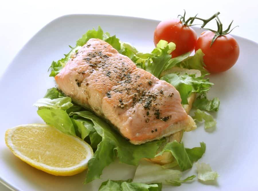 Salmone in bella vista ricette per bambini 4-10 anni