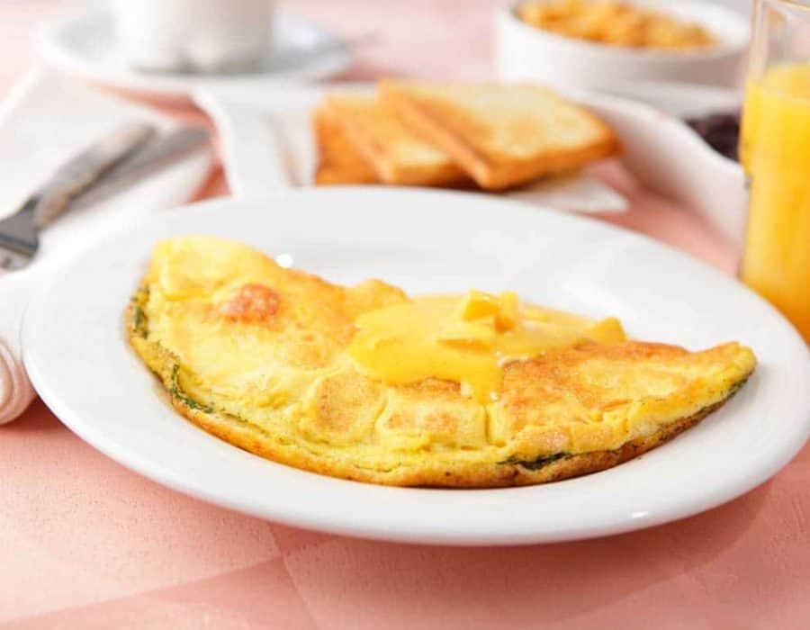 Omelette con marmellata di arance ricette per bambini 4-10 anni