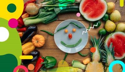 Mettiamo a tavola i colori della salute - alimentazionebambini. It by coop