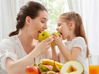 Mangiare bene fa i denti belli