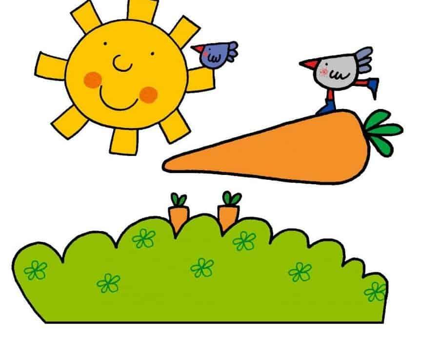 Le carote (filastrocca) di Roberto Piumini