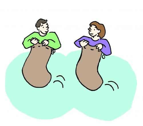 Corsa coi sacchi
