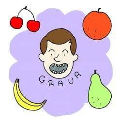 Lupo mangiafrutta