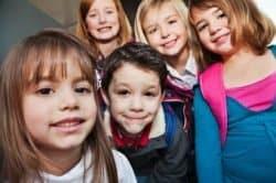 Bambini di scuola elementare