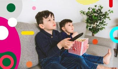 Obesità infantile, bambini che guardano la tv - alimentazionebambini. It by coop
