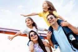 Famiglia in vacanza
