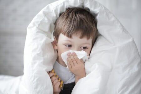 Influenza, ok il vaccino ai bambini