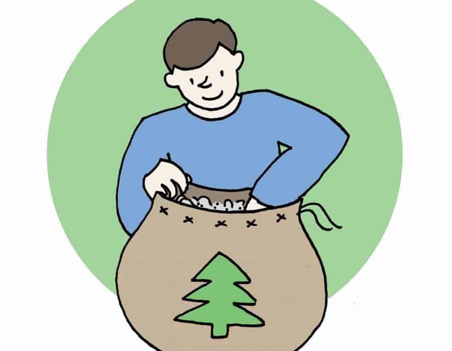 I sacchi di Babbo Natale