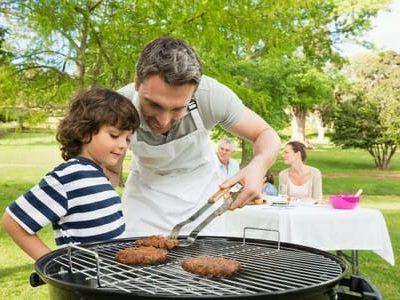 Barbecue in famiglia