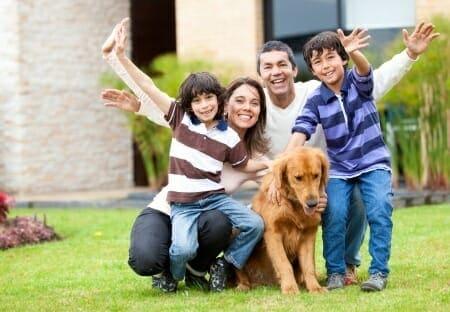 Un cane in famiglia: più buon umore e più benessere