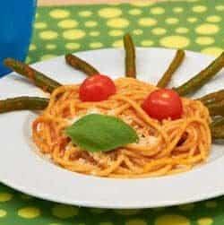 Spaghetti ai fagiolini del buongustaio
