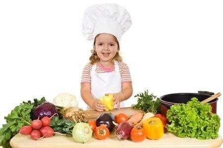 Frutta, verdura e legumi: così i bambini ne andranno matti