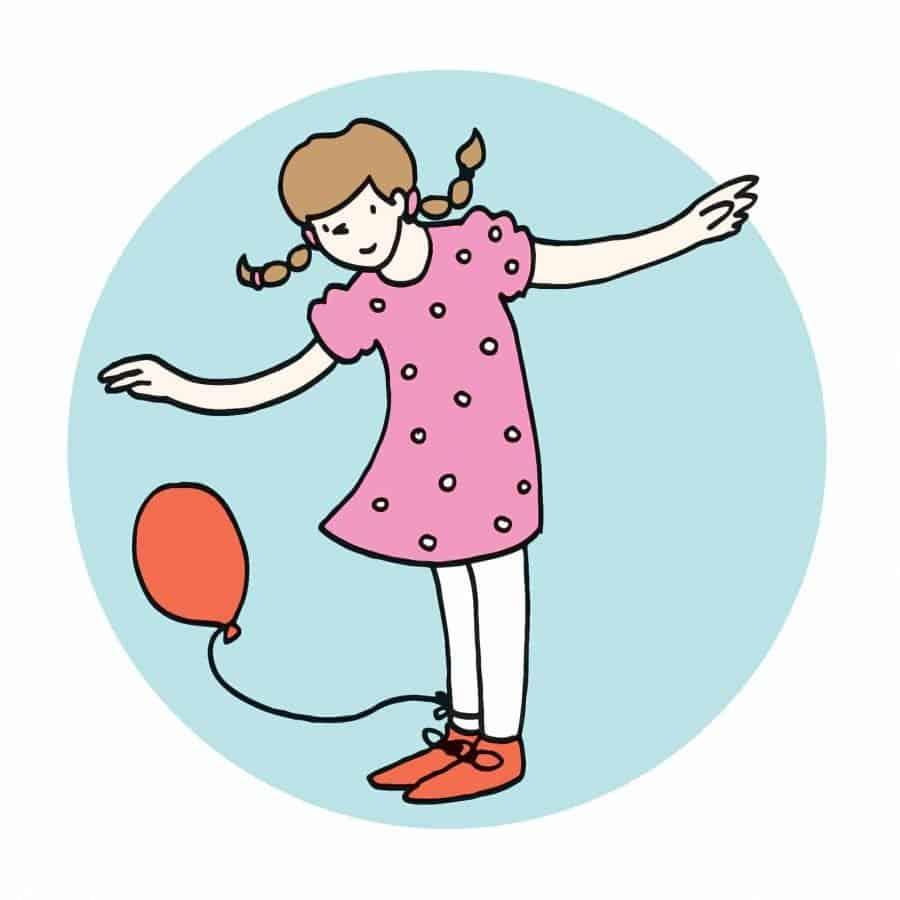 Il ballo dei palloncini