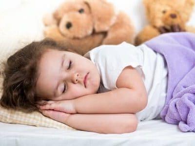 Il sonno dei bambini: riposo per il corpo e per la mente
