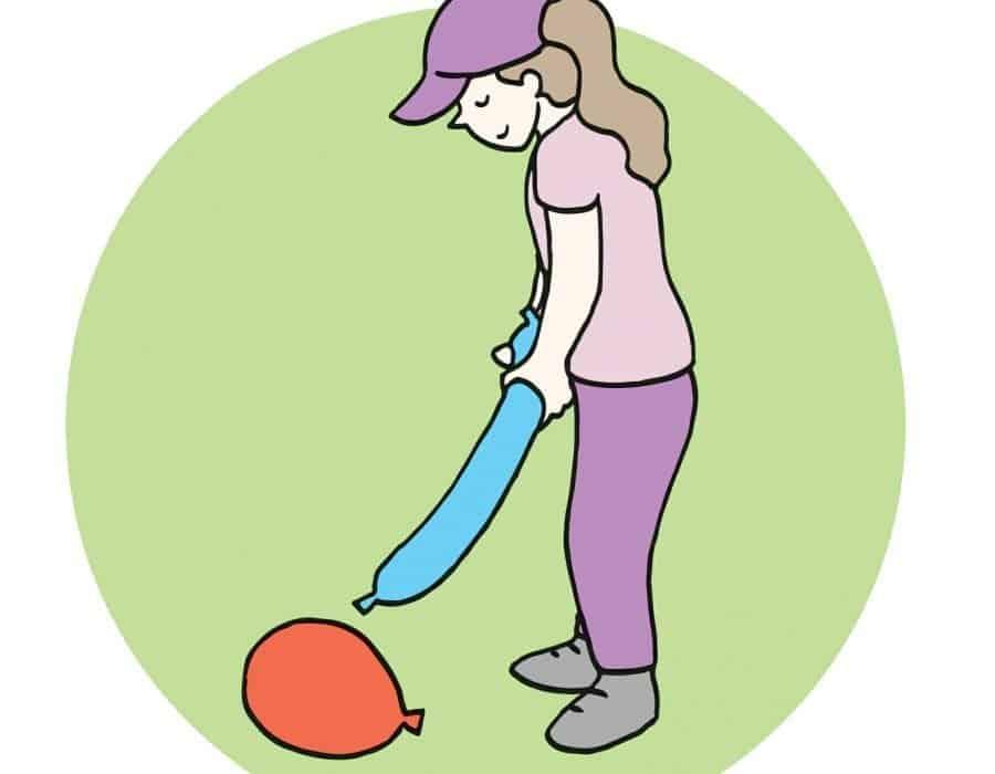 Golf coi palloncini