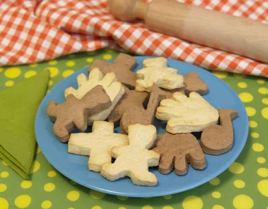 Biscotti cacao e vaniglia Ricette per bambini 1-3 anni