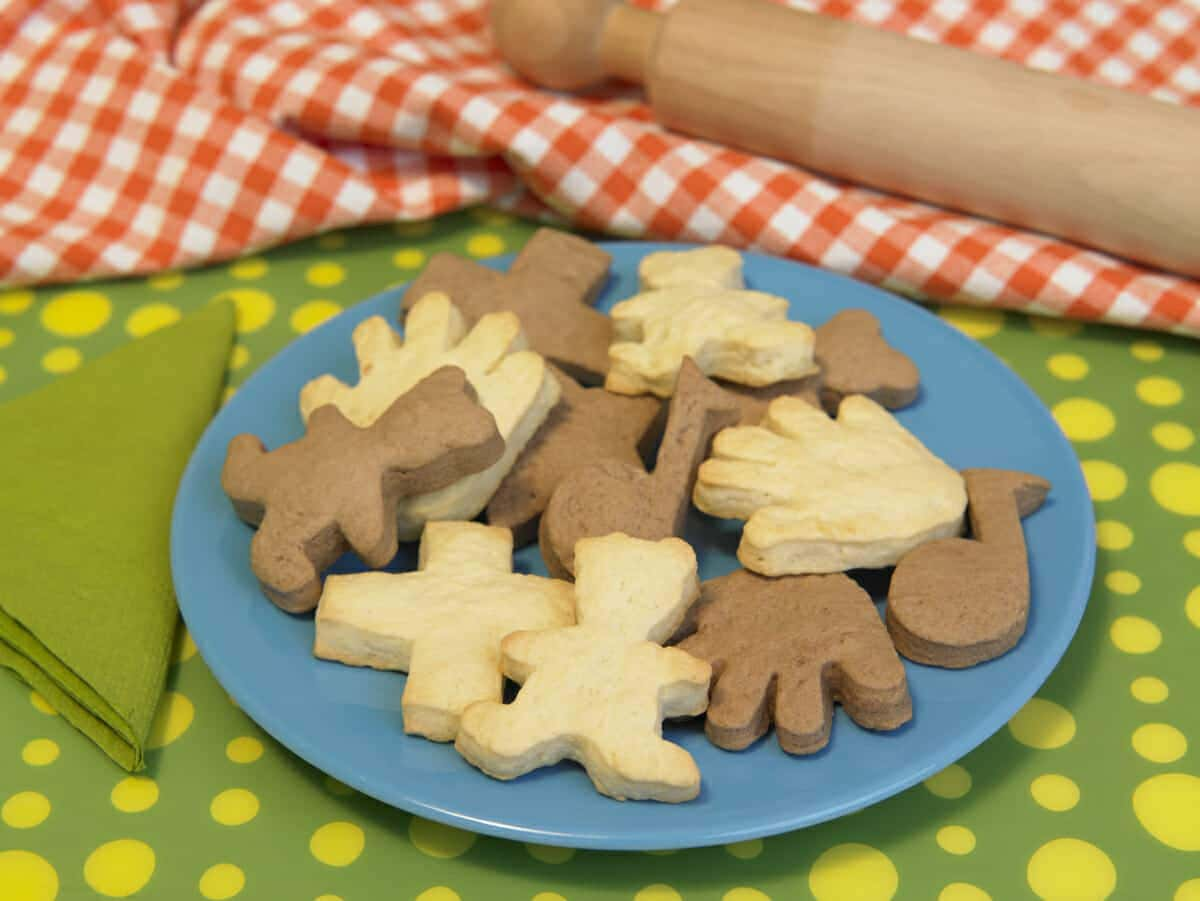 Biscotti cacao e vaniglia
