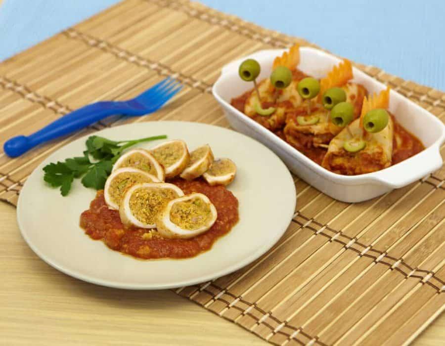 Calamari alla liparota ricette per bambini 1-3 anni