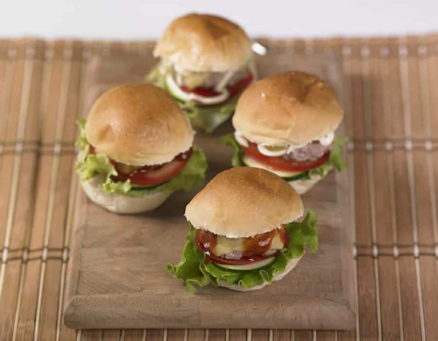 Cheeseburger casalingo Ricette per bambini 1-3 anni
