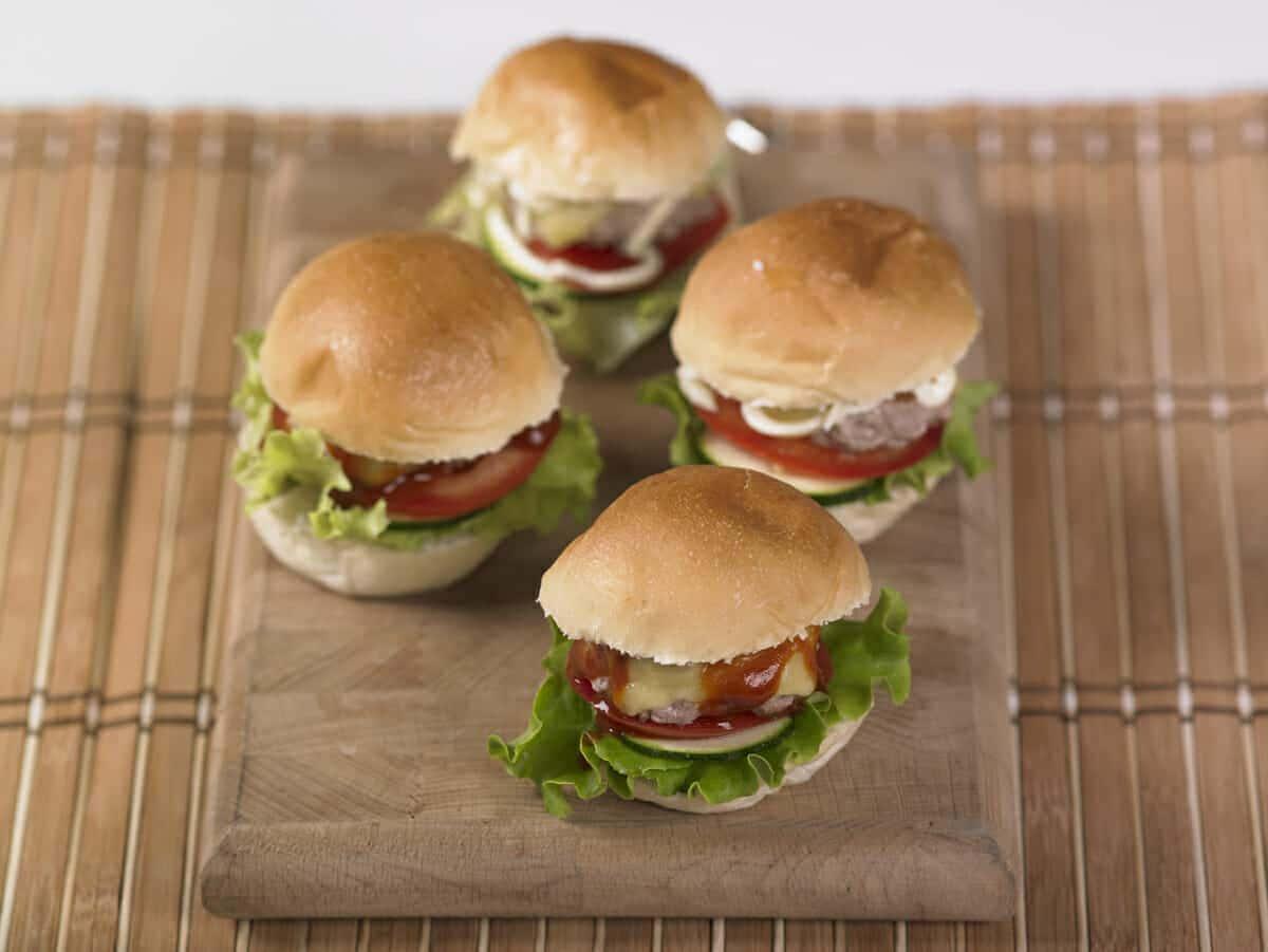 Cheeseburger casalingo
