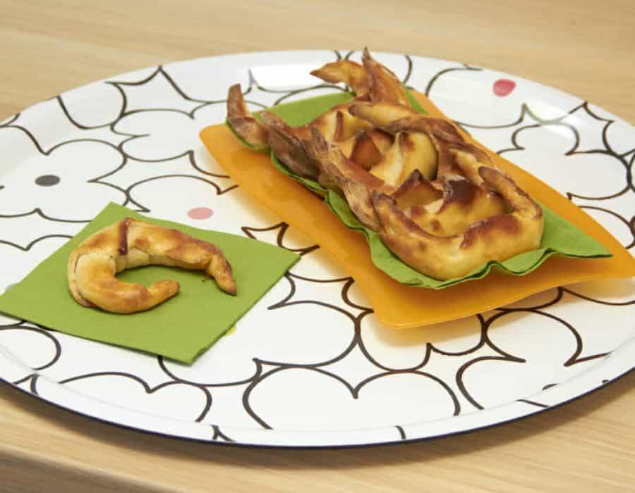 Cornetti salati a sorpresa Ricette per bambini 4-10 anni