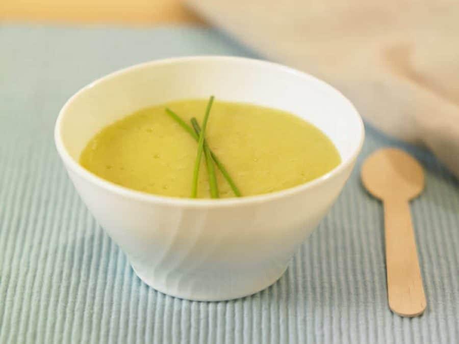 Crema di porri e patate ricette per bambini 4-10 anni