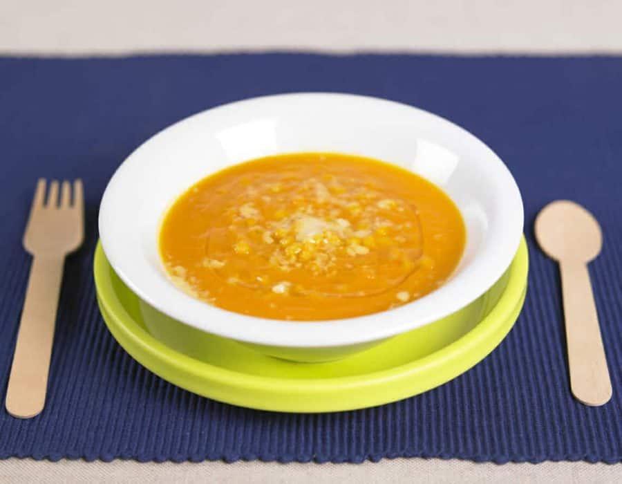 Crema di zucca ricette per bambini 1-3 anni