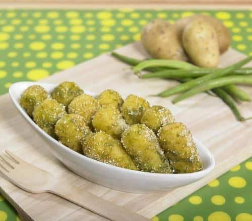 Crocchette di patate e fagiolini Ricette per bambini 1-3 anni