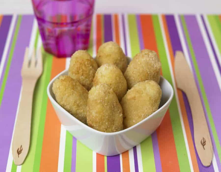 Crocchettine di pesce al forno Ricette per bambini 4-10 anni
