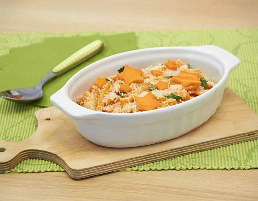Fiammiferi di carote alla parmigiana Ricette per bambini 1-3 anni