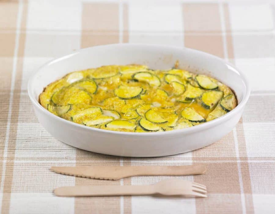 Frittata di zucchine al forno Ricette per bambini 4-10 anni