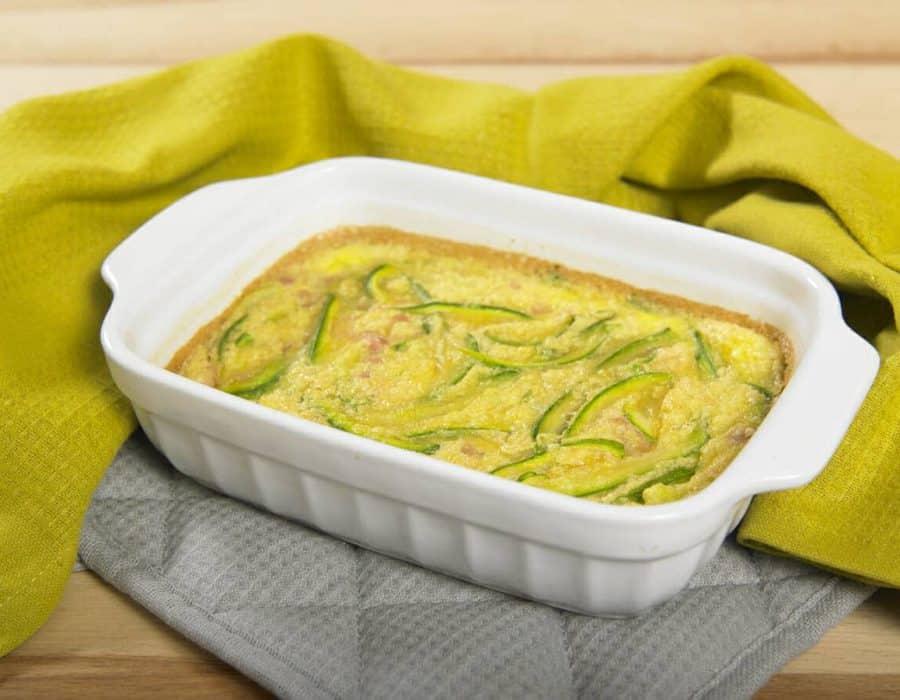 Frittata di zucchine e prosciutto al forno ricette per bambini 1-3 anni