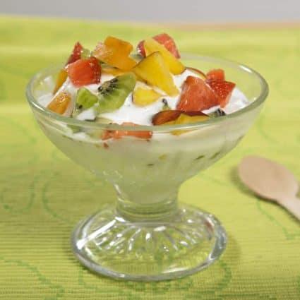 Gelato allo yogurt