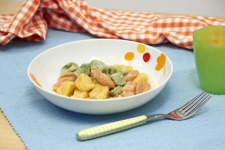 Gnocchetti tricolore ricette per bambini 1-3 anni