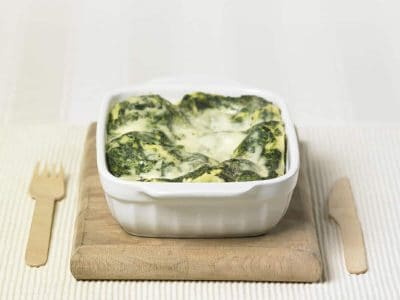 Lasagne con spinaci e ricotta