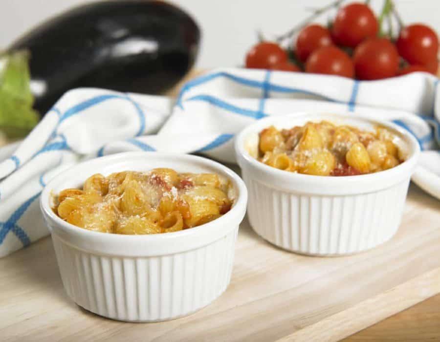 Lumachine al forno con melanzane Ricette per bambini 4-10 anni