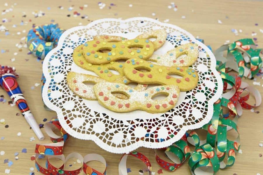 Mascherine di carnevale ricette per bambini 4-10 anni