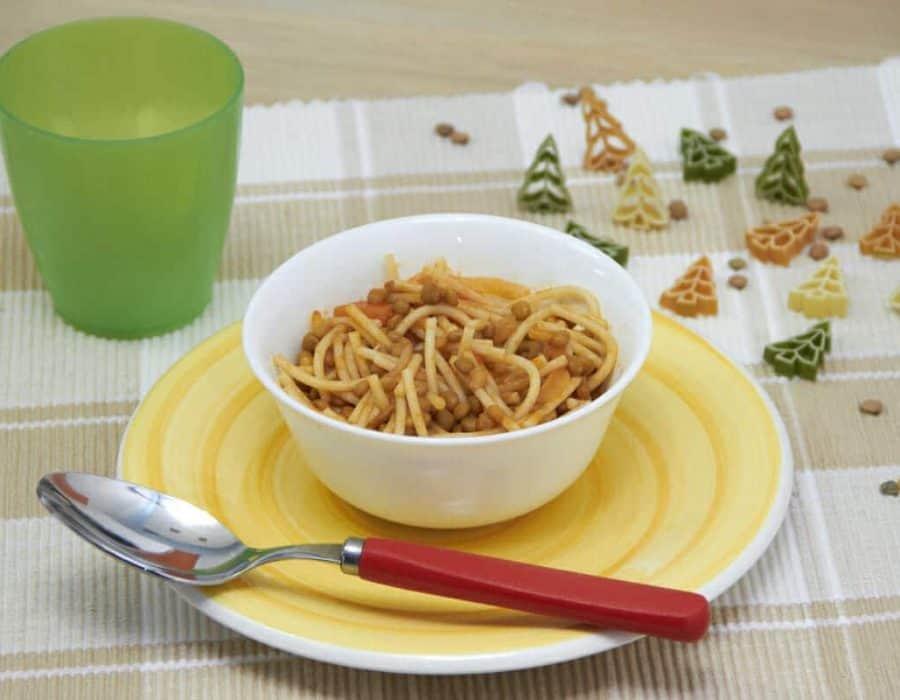 Minestra di lenticchie della nonna Ricette per bambini 1-3 anni