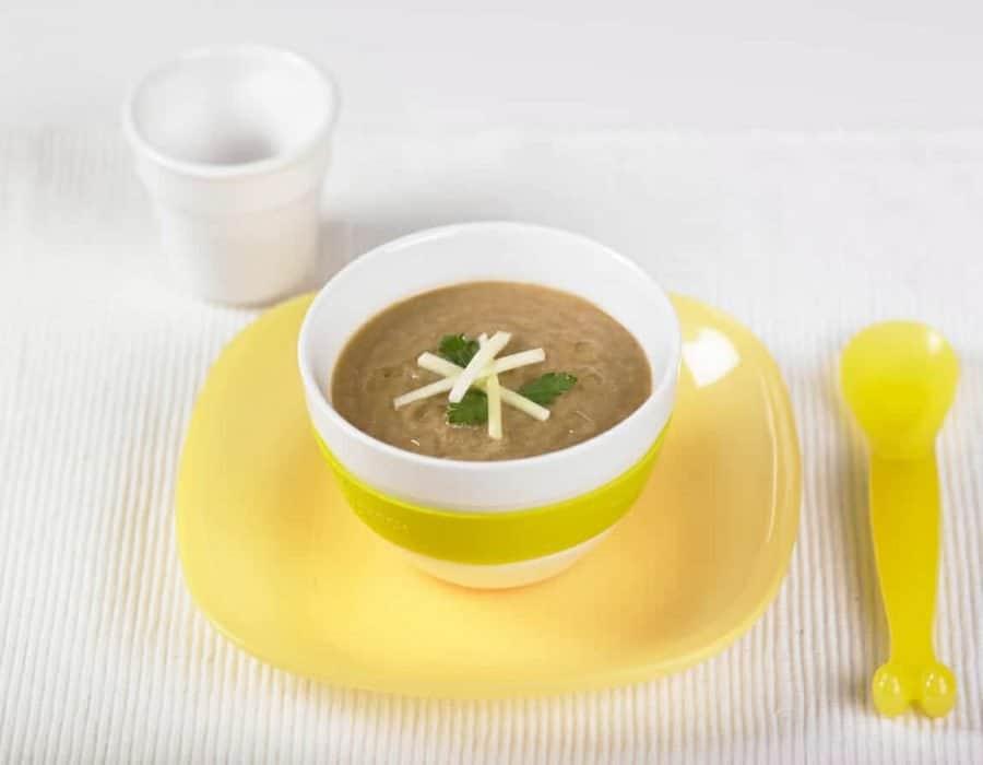 Minestra di lenticchie e verdure Ricette per bambini 1-3 anni