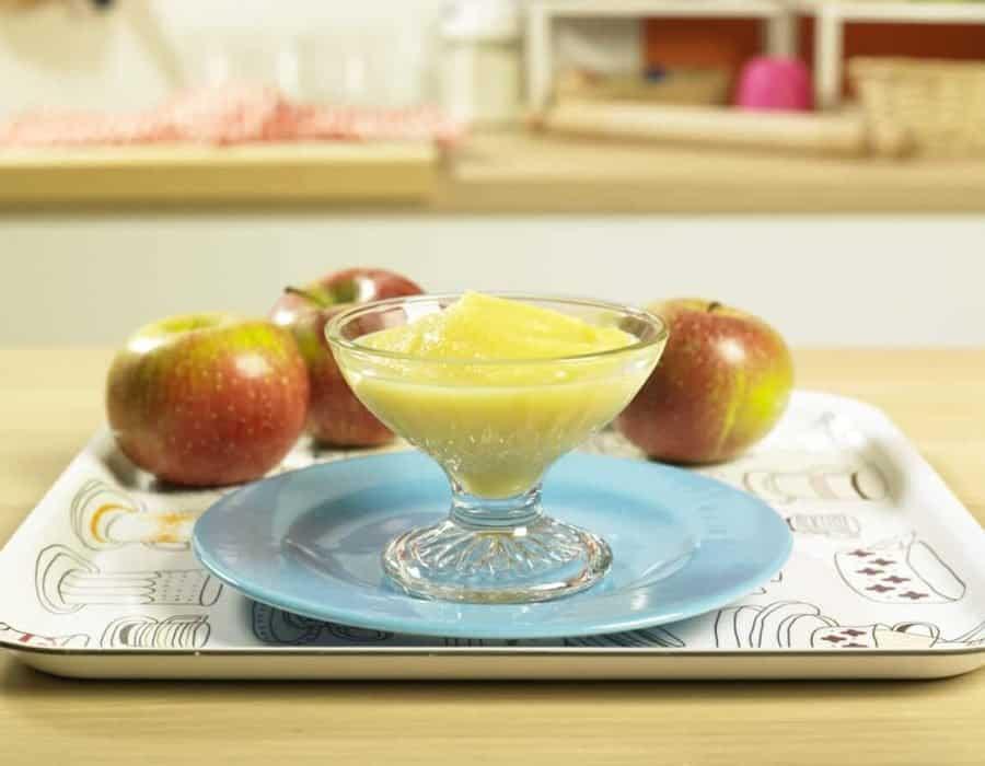 Mousse di mele Ricette per bambini 1-3 anni