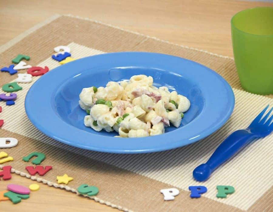 """Pastasciutta alle tre """"P"""" Ricette per bambini 4-10 anni"""