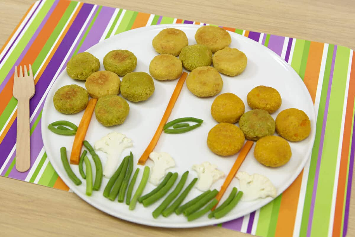Polpette tricolore alla farina di ceci for Siti ricette dolci