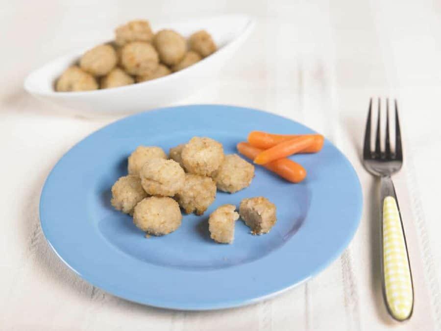 Polpettine di merluzzo al forno ricette per bambini 4-10 anni