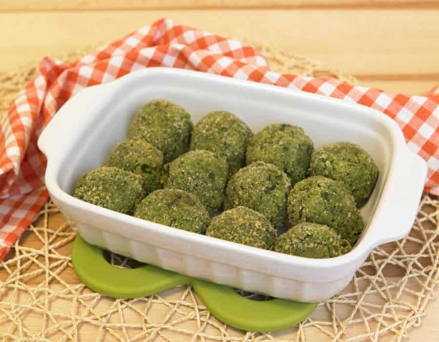 Polpettine di spinaci al forno Ricette per bambini 1-3 anni