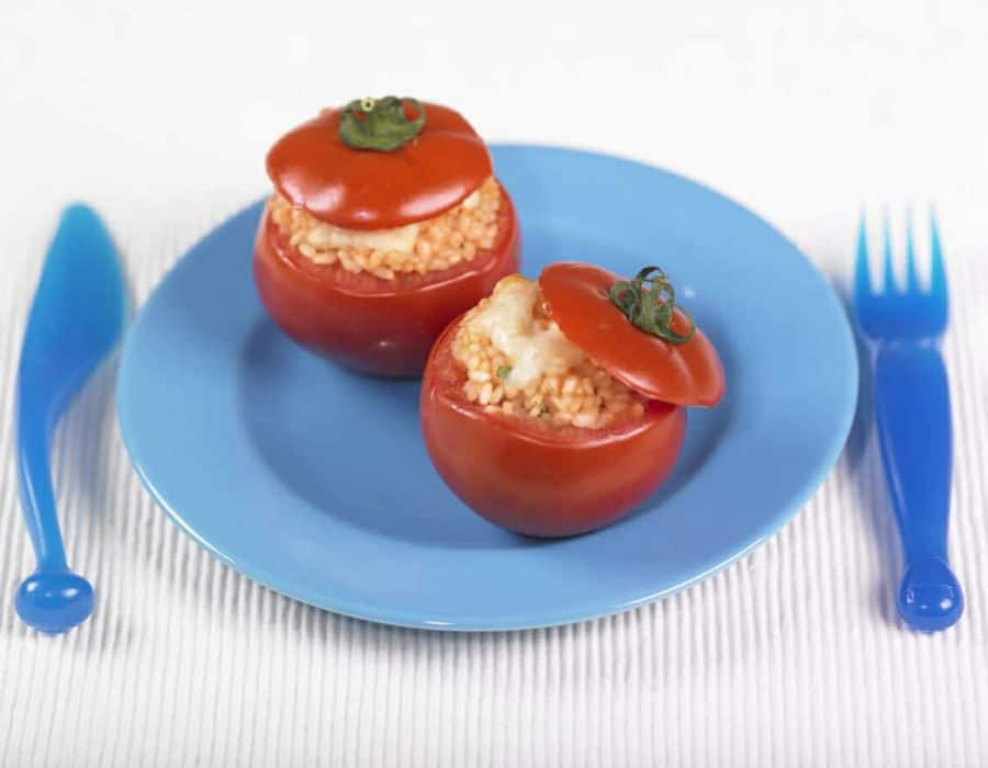 Pomodori ripieni ricette per bambini 1-3 anni