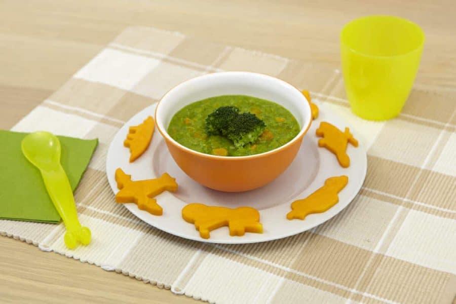 Purea di broccoletti e zucca ricette per bambini 1-3 anni