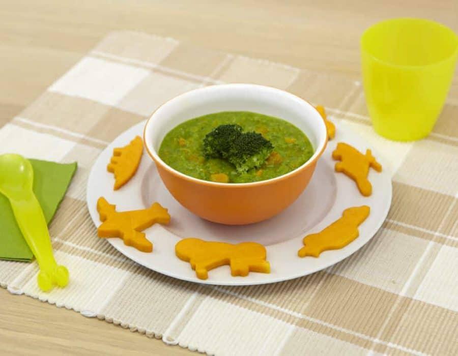 Purea di broccoletti e zucca