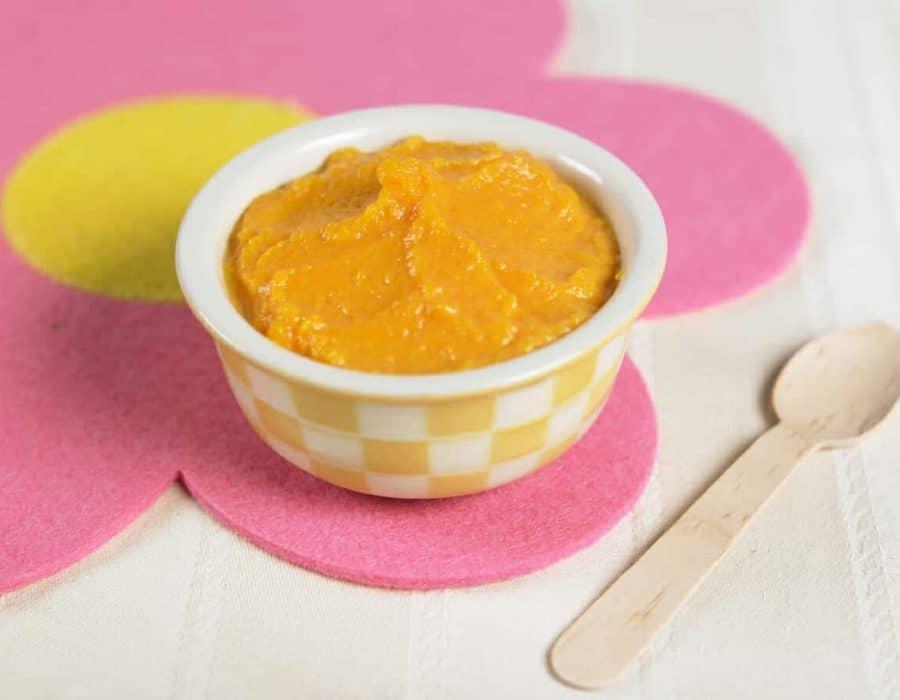 Purea di carote Ricette per bambini 1-3 anni