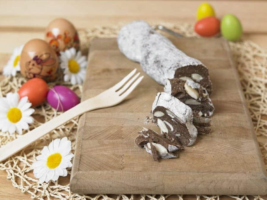 Salame di cioccolato ricette per bambini 4-10 anni