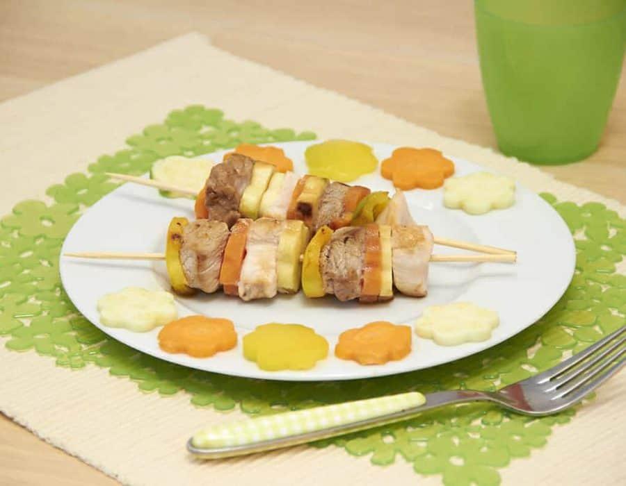 Spiedini di carne del cacciatore Ricette per bambini 4-10 anni